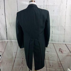 After Six 44L Tail Coat Gray Tuxedo Suit Blazer